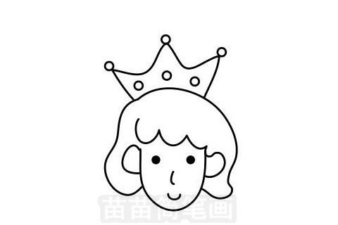 王子简笔画图片大全作品一