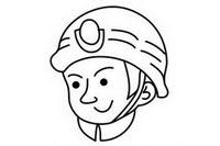 消防员简笔画图片大全、教程