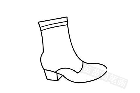 鞋子简笔画图片大全 画法