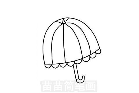 雨伞简笔画图片大全作品一