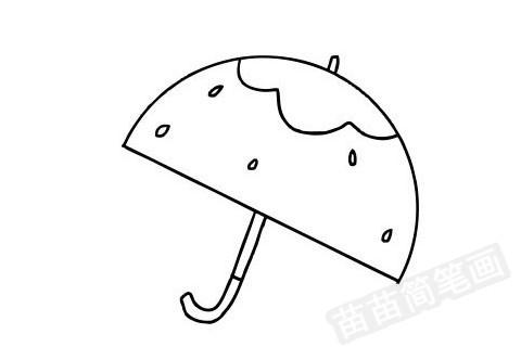 雨伞简笔画图片大全作品四