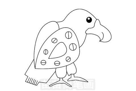 小鸟简笔画图片大全作品一