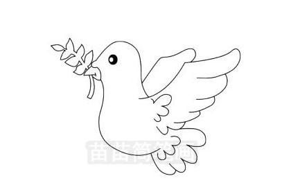 小鸟简笔画图片大全作品三