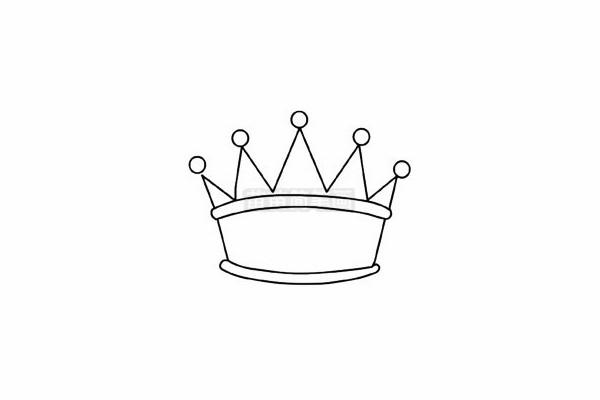 皇冠简笔画图片大全 教程