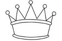 皇冠简笔画图片大全、教程