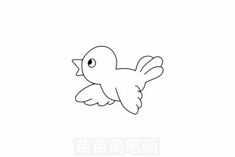 黄鹂简笔画大图
