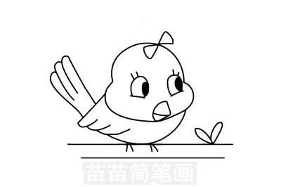 黄鹂简笔画图片大全作品一