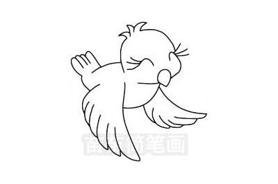 黄鹂简笔画图片大全作品三