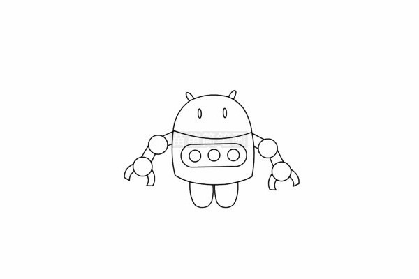 机器人玩具简笔画图片大全 教程