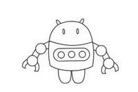 机器人玩具简笔画图片大全、教程