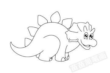 简笔画 动物简笔画 野生动物简笔画 >> 正文内容   戟龙小知识:恐龙是