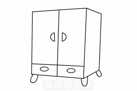 柜子简笔画大图