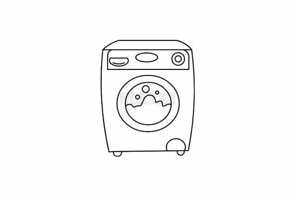 家用电器简笔画图片步骤五