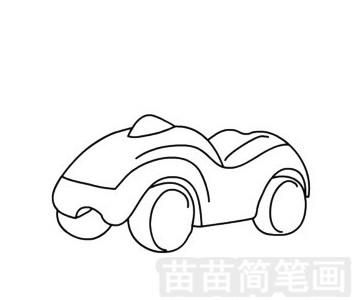 扭扭车简笔画图片大全 教程