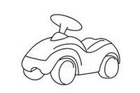 扭扭车简笔画图片大全、教程