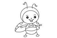 瓢虫简笔画图片大全、画法