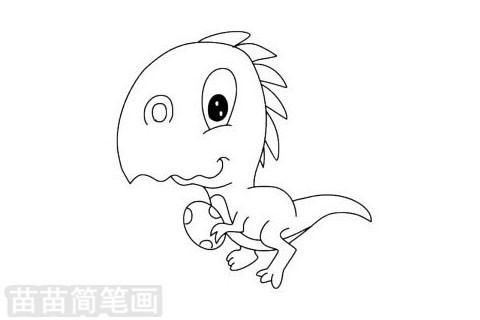 简笔画 动物简笔画 野生动物简笔画 >> 正文内容   窃蛋龙小知识:窃蛋