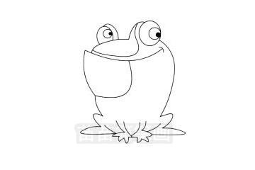 青蛙简笔画图片大全 画法