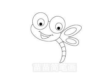 蜻蜓简笔画图片大全 画法