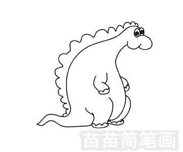 食草龙简笔画图片大全 教程