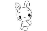 兔子简笔画怎么画、图片大全