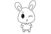 兔子简笔画图片大全、画法