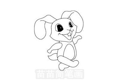 兔子简笔画图片大全 画法