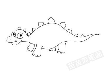 沱江龙简笔画图片大全 教程