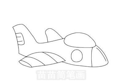玩具飞机简笔画图片大全作品一