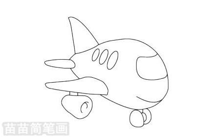 玩具飞机简笔画图片大全,教程