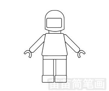 玩具模型简笔画图片步骤四