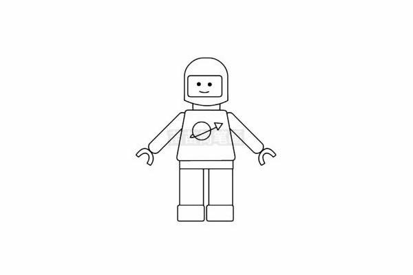 玩具模型简笔画图片步骤五