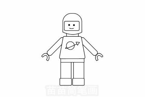 玩具模型简笔画大图