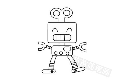 玩具模型简笔画图片大全作品五