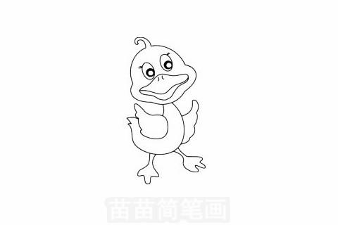 动物的脚简笔画大图片