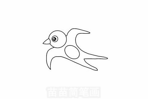 燕子简笔画图片大全 画法
