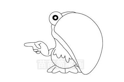 鹦鹉简笔画图片大全 教程
