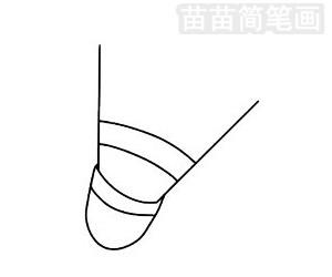 羽毛球简笔画图片大全 画法