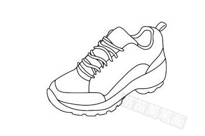 有单线、双线、假线、明线、虚线、轮廓线、棱线、接缝线、装饰线等,可同时运用在一双鞋上,不拘泥于一种.