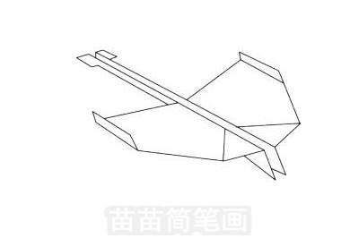 纸飞机简笔画图片大全,画法