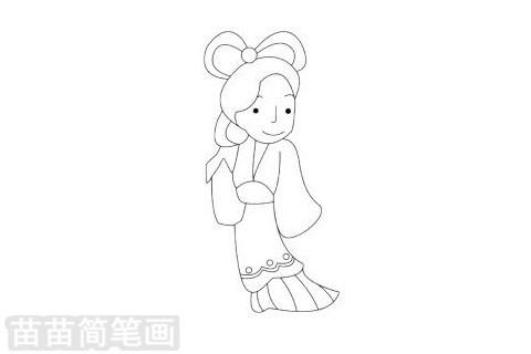 中秋节简笔画图片大全作品二