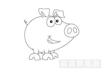 奇妙的动物简笔画