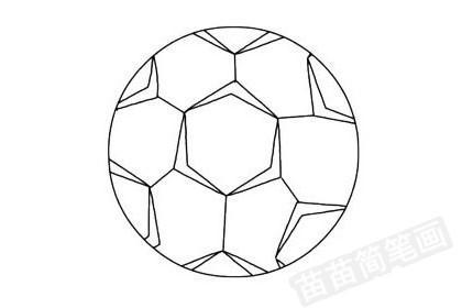 足球简笔画图片大全作品四