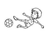 足球运动员简笔画图片大全、教程