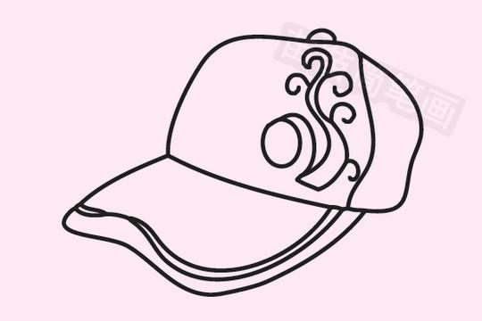棒球帽简笔画图片大全作品五