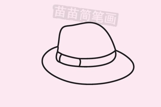草帽简笔画图片大全作品三