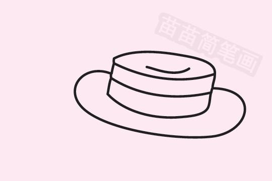 草帽简笔画图片大全作品五