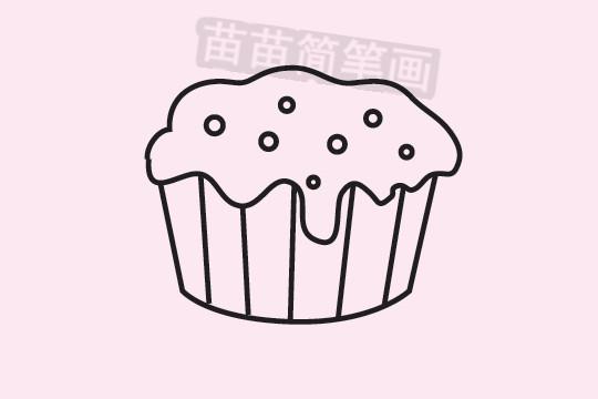 蛋糕简笔画图片大全 教程