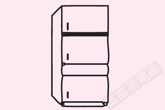 电冰箱简笔画图片大全 教程