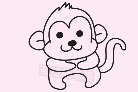 猴子简笔画图片大全 教程